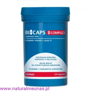 BICAPS B-COMPLEX 120 kaps FOR MEDS