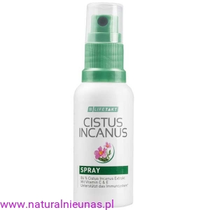CZYSTEK SPRAY LR-  CUSTUS INCANUS - 30ml